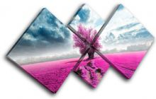 Surreal Tree Pink Landscapes - 13-0580(00B)-MP19-LO